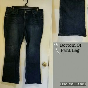 18 petite NYC bootcut jeans.